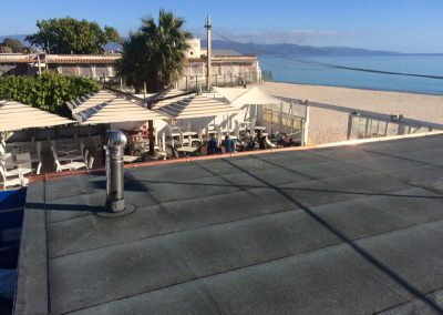 Schutz und Abdichtung der Dachplatten