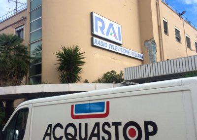 Abdichtung und Schutz des Daches der RAI-Zentrale