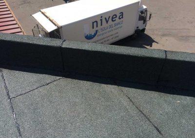 Abdichtung des Dachbodens