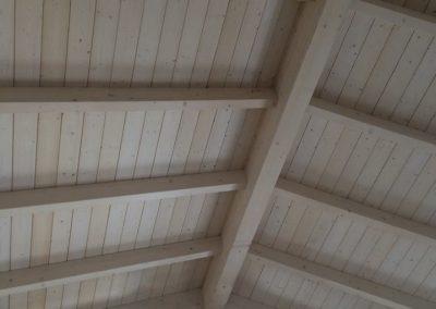 Bau eines Fachwerkdaches