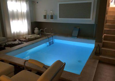 Realizzazione e impermeabilizzazione piscina da interno