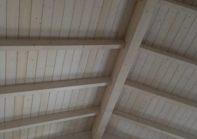 Realizzazione tetto a capriate