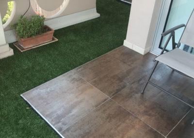 Pavimentazione terrazze con erba sintetica Roofingreen.